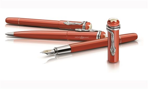 Montblanc Celebrates 110th Anniversary With Heritage Writing recommend
