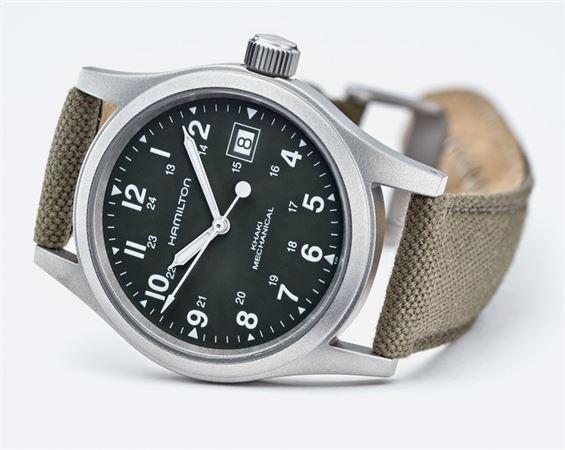 Hamilton Mens Khaki Field Officer Mechanical Watch