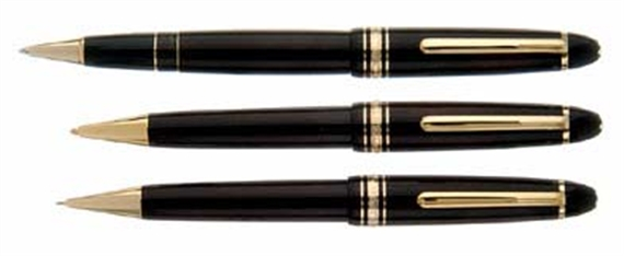 Montblanc Meisterstuck LeGrand Fountain Pen With Gold Trim