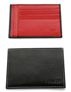 Ducati Officina Leather Credit Card Holder