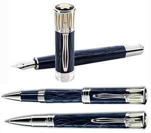 Image result for Montblanc Mark Twain Pen Set Fountain Rollerball and Pencil