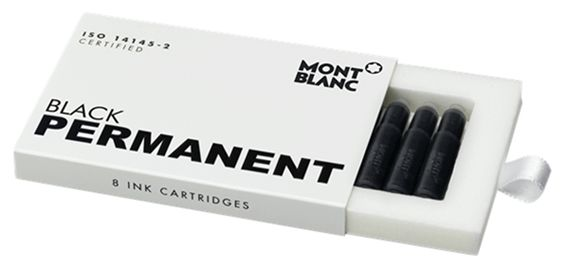 Montblanc Permanent Ink Cartridges 8 Pack
