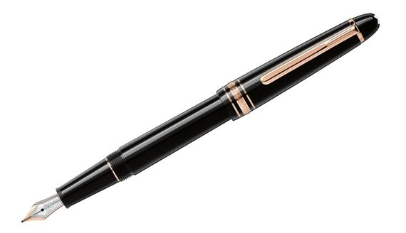 Montblanc Meisterstuck Classique Red Gold Fountain Pen