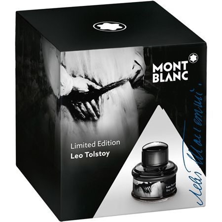Montblanc Limited Edition Leo Tolstoy Sky Blue Bottle Ink