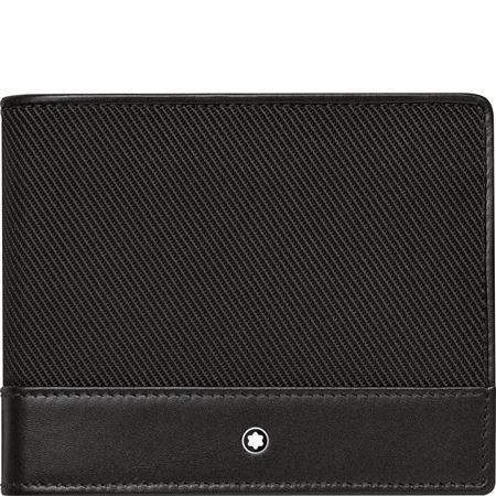 Montblanc NightFlight Wallet 6cc Black