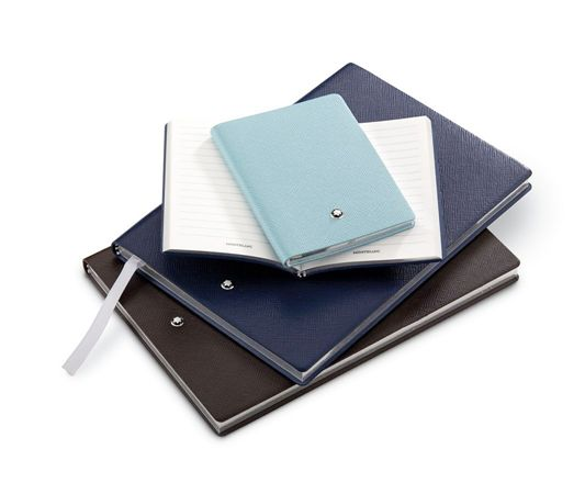 Montblanc Fine Stationery Pocket Size Leather Notebook #145