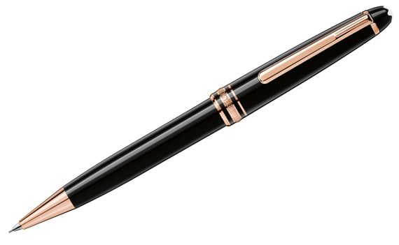 Montblanc Meisterstuck Classique Red Gold Trim Pencil