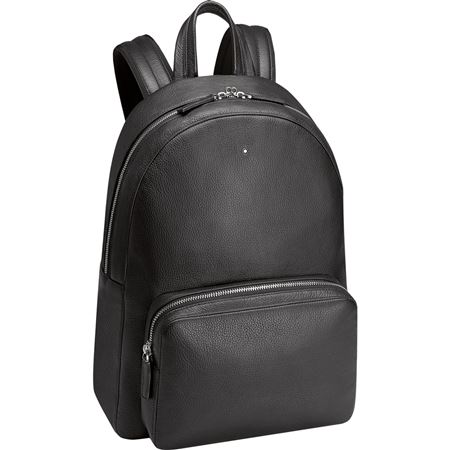 Montblanc Meisterstuck Soft Grain Leather Backpack - Black