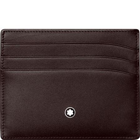 Montblanc Meisterstuck Pocket 6cc Wallet - Brown