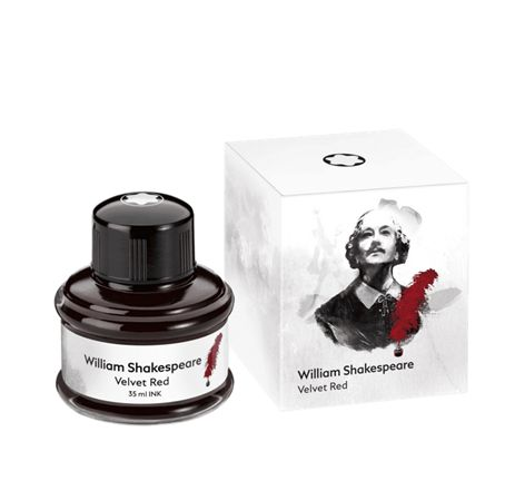 Montblanc Limited Writers Edition Shakespeare Red Velvet Ink