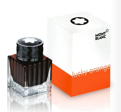 Montblanc Special Edition Lucky Orange Ink Bottle