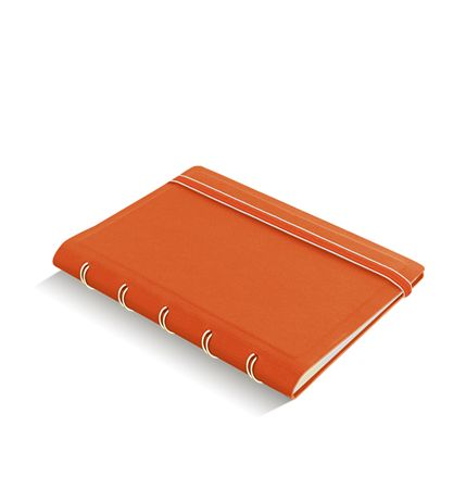 Filofax A5 Refillable Notebook - Orange