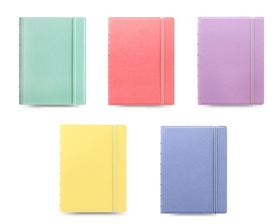 Filofax A5 Refillable Notebook Pastel