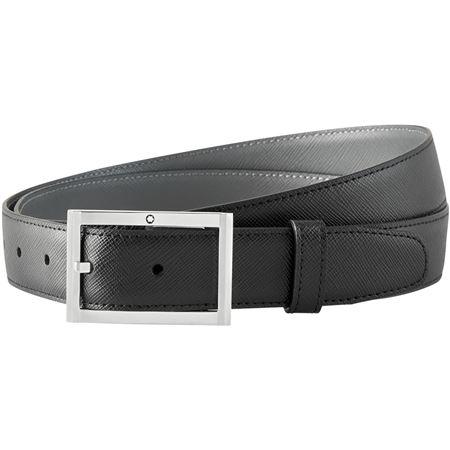 leather belt - Black Egrey TMfDs