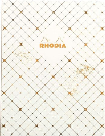 Rhodia Heritage Book Block Notebook 9 3/4 x 7 1/2