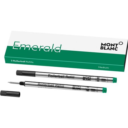 Montblanc Rollerball Refill - Emerald Green 2/pk