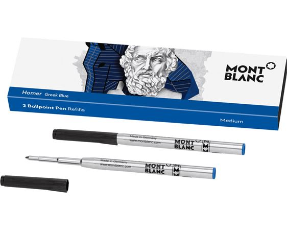 Montblanc Writers Edition Homer Ballpoint Pen Refill 2/pk