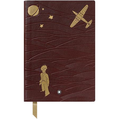Montblanc 146 Le Petit Aviator Lined Notebook Brown