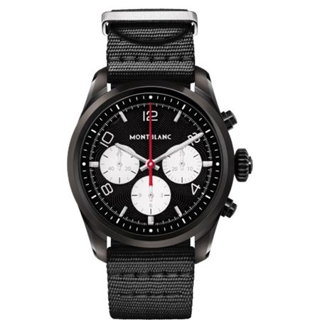 Montblanc Summit 2 Black Steel and Nylon Smartwatch