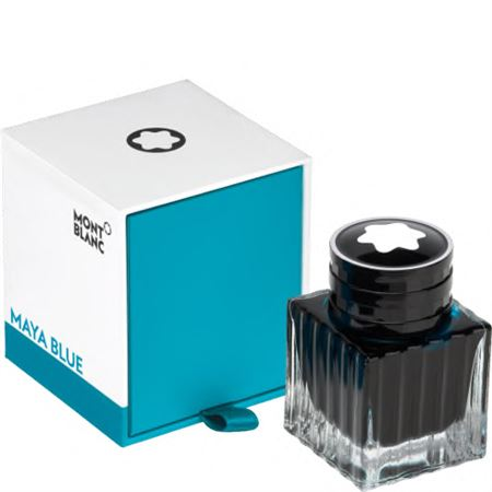 Montblanc The Blues Bottle Ink 30ML Maya Blue