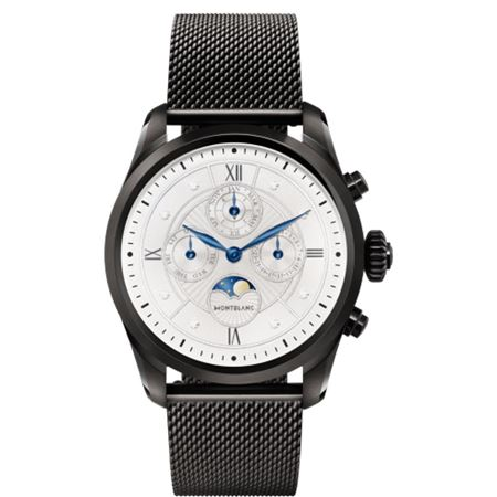 Montblanc Summit 2 Black Steel Milanese Edition Smartwatch