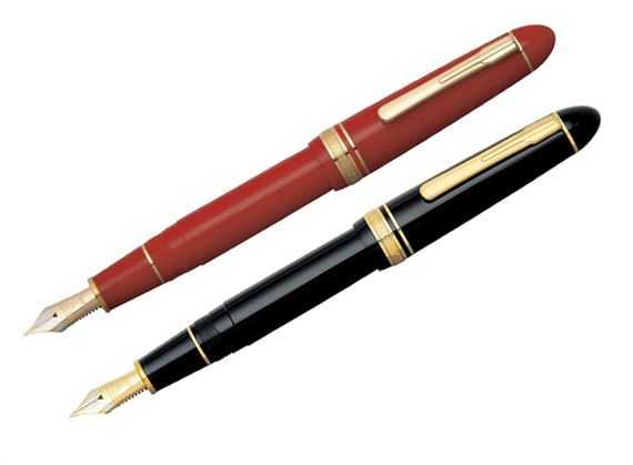 Platinum President Fountain Pen With Gold Trim