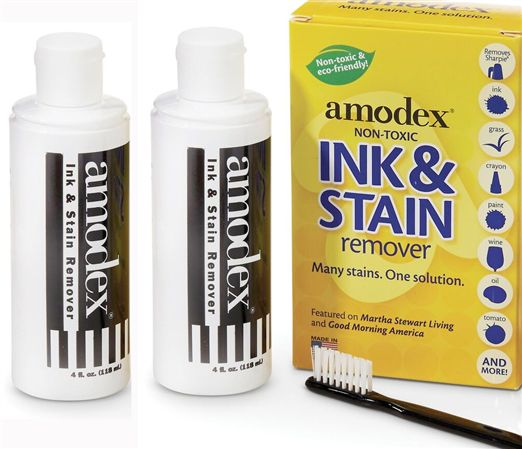 Amodex Ink and Stain Remover Twin Economy Pack