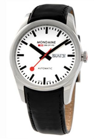 Mondaine Mens Retro Automatic Watch