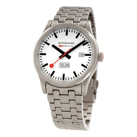 Mondaine Mens Sport I Gents Stainless Watch