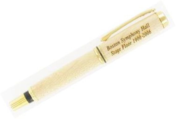 American Heritage Boston Symphony Hall Stage Floor Fountain Pen