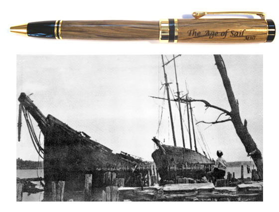 American Heritage Age Of Sail Ballpoint Pen