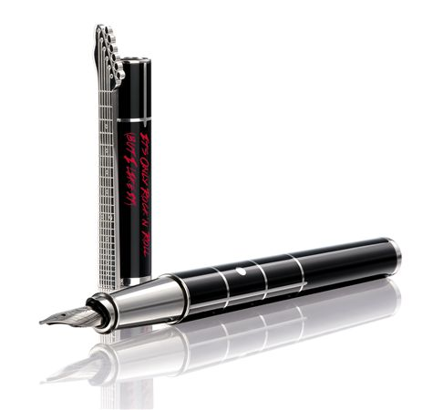 Dupont Limited Edition Neoclassique Rolling Stones Fountain Pen