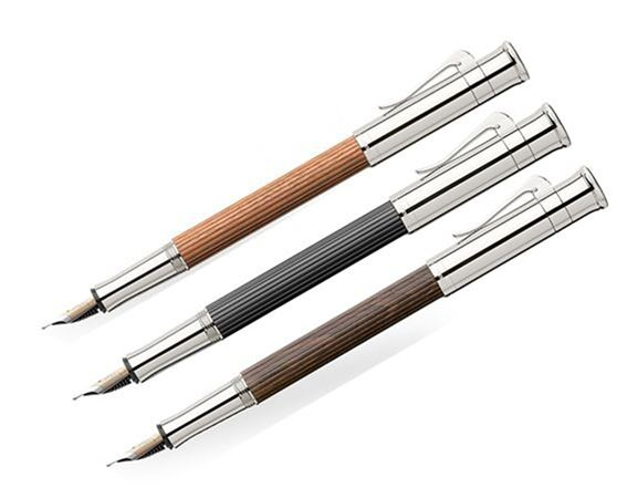 Graf Von Faber-Castell Crafted Wood Fountain Pen
