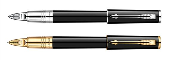 Parker Ingenuity Large Black Lacquer 5th Technology Pen