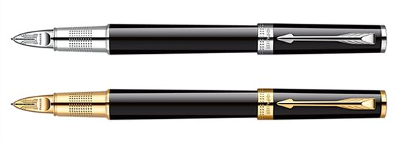 Parker Ingenuity Slim Black Lacquer 5th Technology Pen