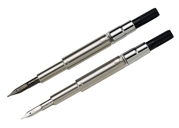 Pilot Vanishing Point Replacement Nib 18K Black or Rhodium
