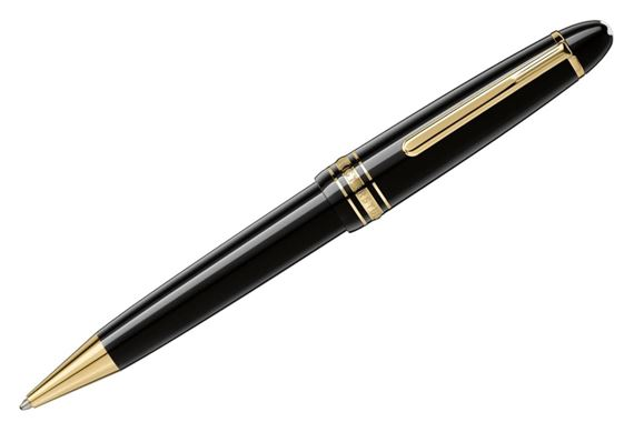 Montblanc Meisterstuck LeGrand Ballpoint Pen with Gold Trim