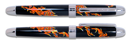 ACME J McLaughlin Designed Jazz The Inner Mounting Frame Rollerball Pen