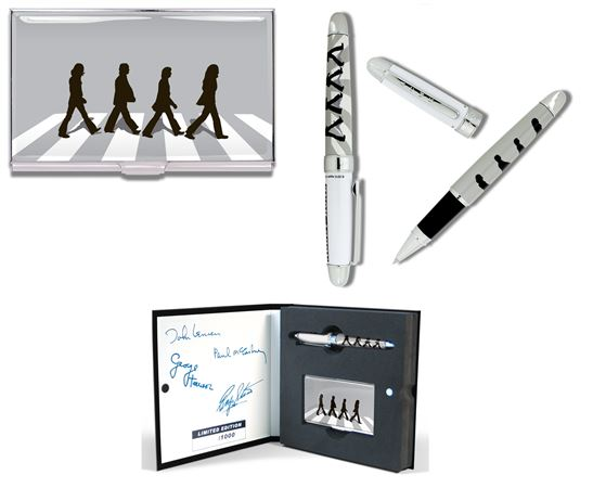 ACME Limited Edition Beatles Abbey Road Rollerball and Card Case