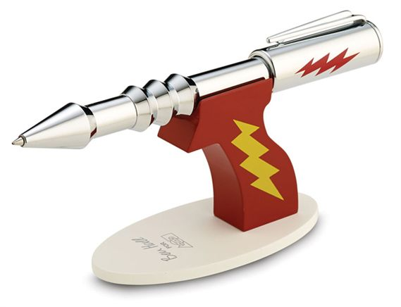 ACME Ray Gun Rollerball Pen and Stand