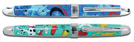 ACME Nancy Wolff Designed Dog and Cat Rollerball Pen