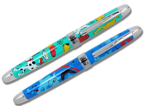 ACME Nancy Wolff Designed Dog and Cat Fountain Pen