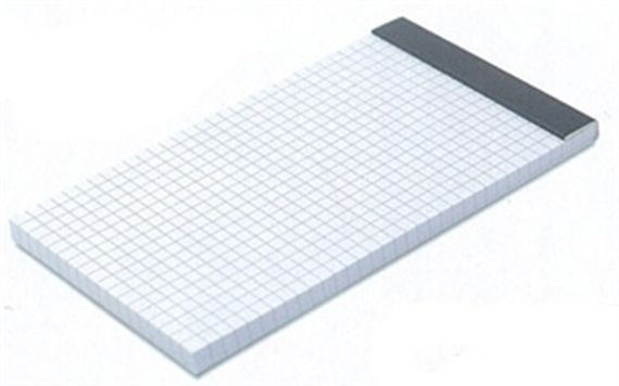 Grid Paper Refill Pad for Retro Traveler 3/PK