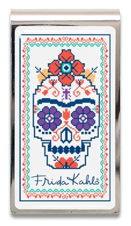 ACME Frida Kahlo Inspired Sugar Skull Money Clip