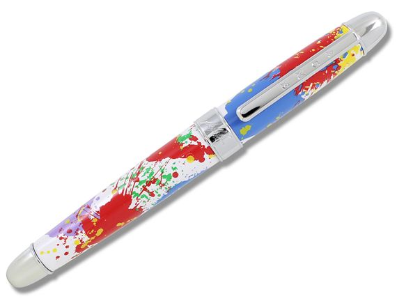 ACME Norman Moore Inspired Paint Splash Rollerball Pen