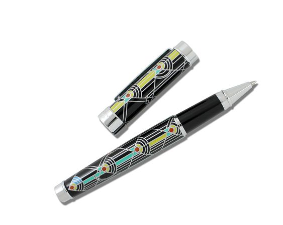 ACME Frank Lloyd Wright Inspired April Showers Rollerball Pen