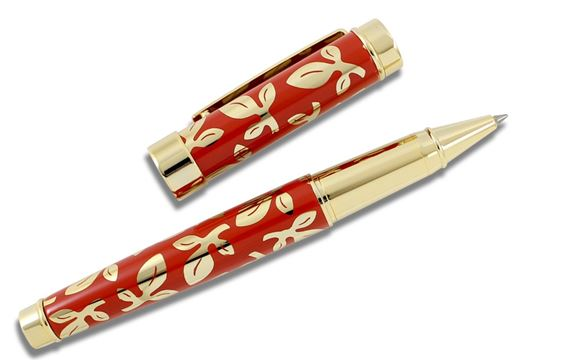 ACME Michael Graves Leaf Hybrid Rollerball - Red