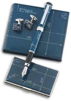 ACME Boym Designed Blueprint Fountain Pen