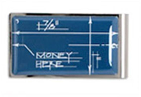 ACME Boym Designed Blueprint Money Clip