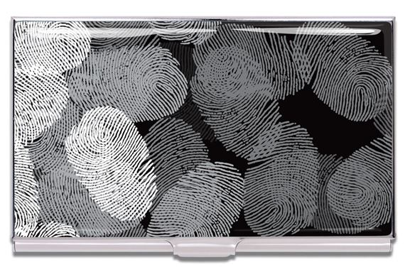 ACME James Wines Designed Fingerprints Card Case
